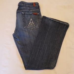 """7 For All Mankind """"A Pkt Flip Flop"""" Jeans"""